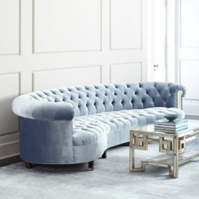 Rebecca Mirrored Sofa by Haute House 285x285 See Your Face in Every Surface with Mirrored Furniture