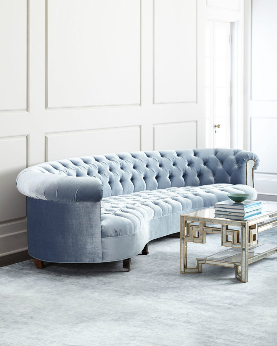 Rebecca Mirrored Sofa by Haute House
