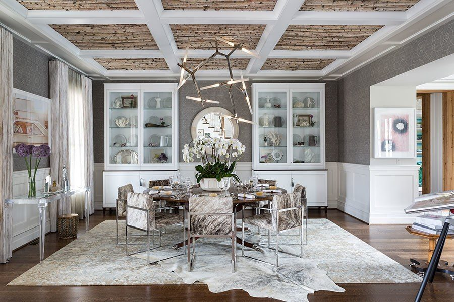 ... Refined Rustic Dining Room Design By Jeff Akseizer And Jamie Brown