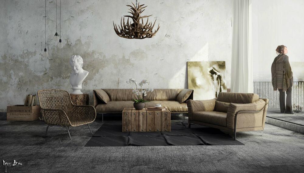 Rustic modern aesthetic by Ngọc Báu