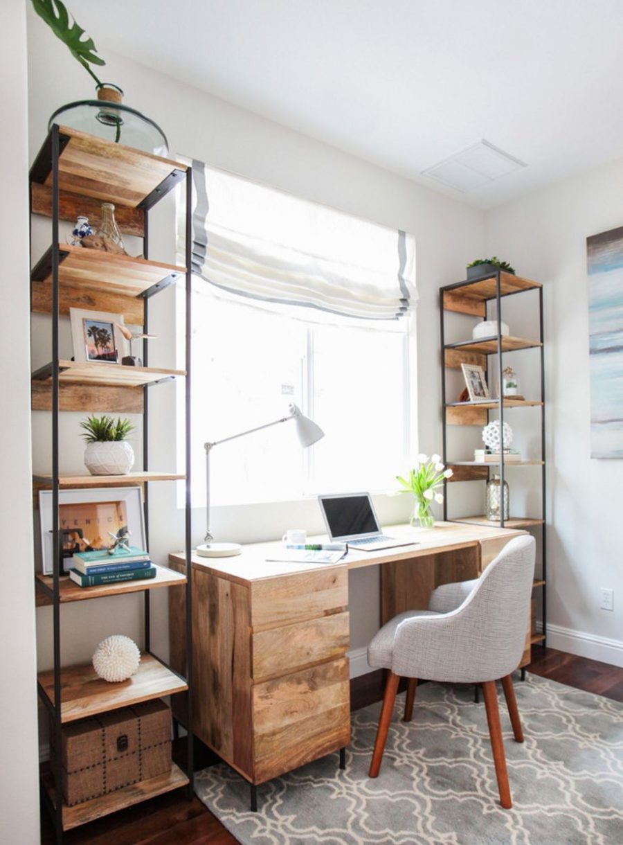 wood home office desks. Home Office Wood Desk. View In Gallery Salvaged Desk Desks .