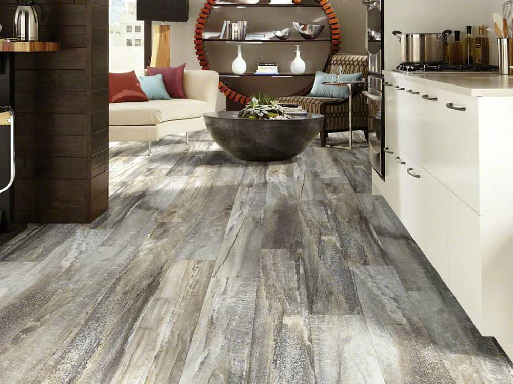 Shaw Floors Five Spice stone wood look tile