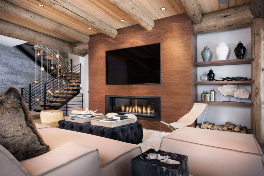 View In Gallery Ski House Rustic Modern Interior By Reed Design Group Llc 900x600 Decor For Country