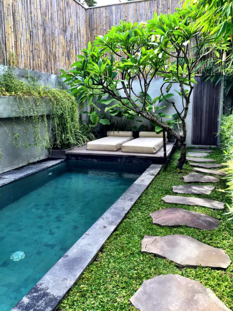 Brilliant backyard ideas big and small for Pool design 2016