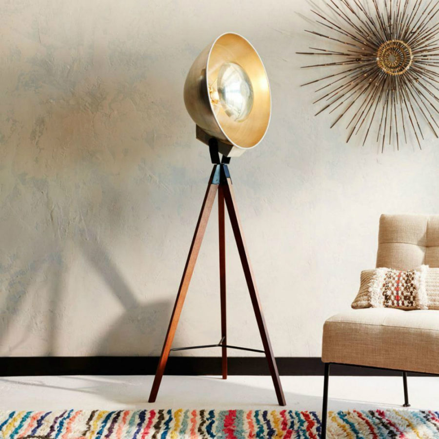 25 absolutely not boring tripod floor lamp designs view in gallery studio tripod floor lamp solutioingenieria Choice Image