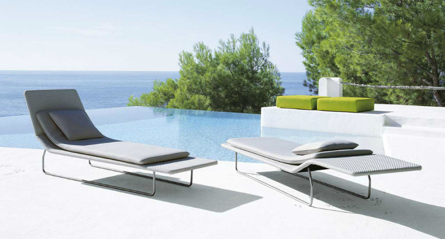 Captivating View In Gallery Surf By Paola Lenti 900x485 Ultra Modern Pool Lounge Chairs  To Turn Your Backyard Into Retreat Idea