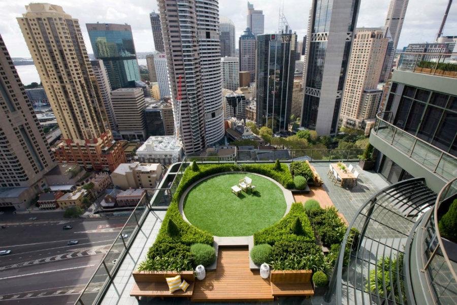 Sydney rooftop gardem nu Secret Gardens