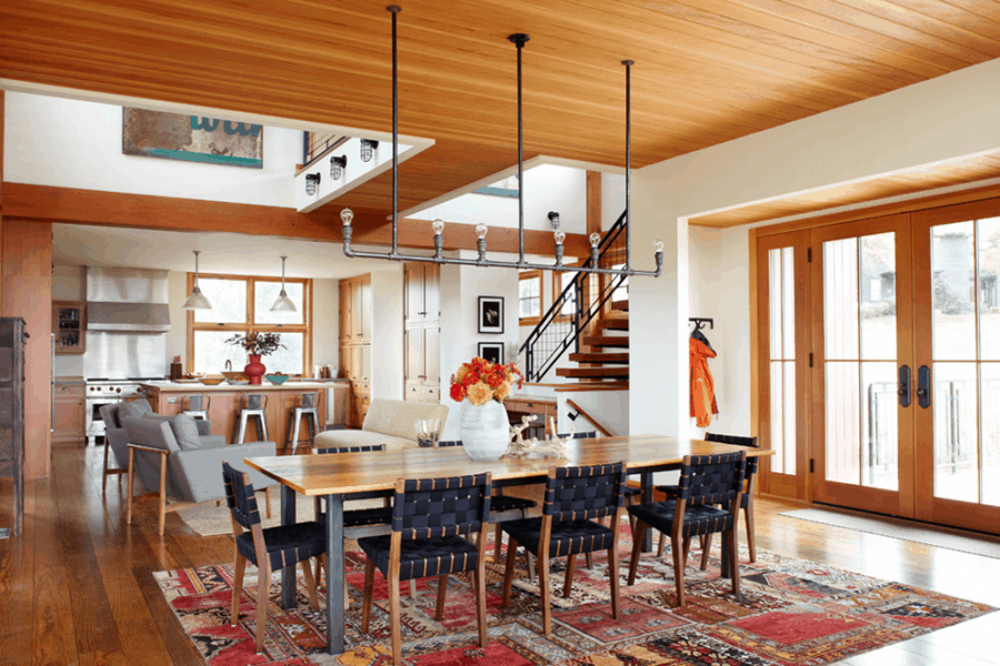 Thistle Hill Farm in rustic modern style by Northworks