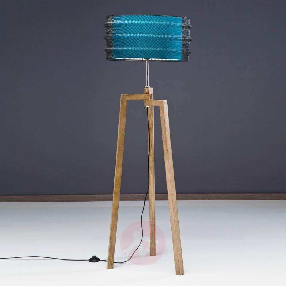 Three-legged floor lamp Wire Tripod