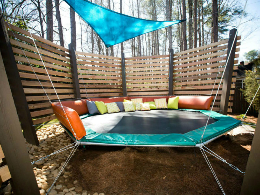 View In Gallery Trampoline Bed