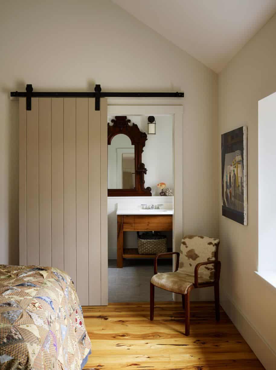 Trendy barn doors