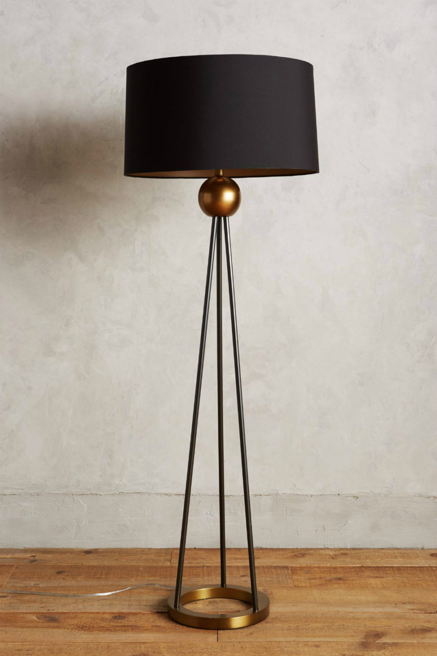 Floor Lamp In A Kitchen