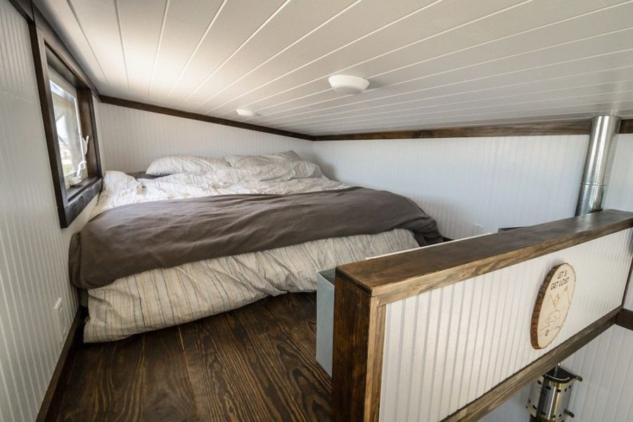 Triton wind river tiny bedroom