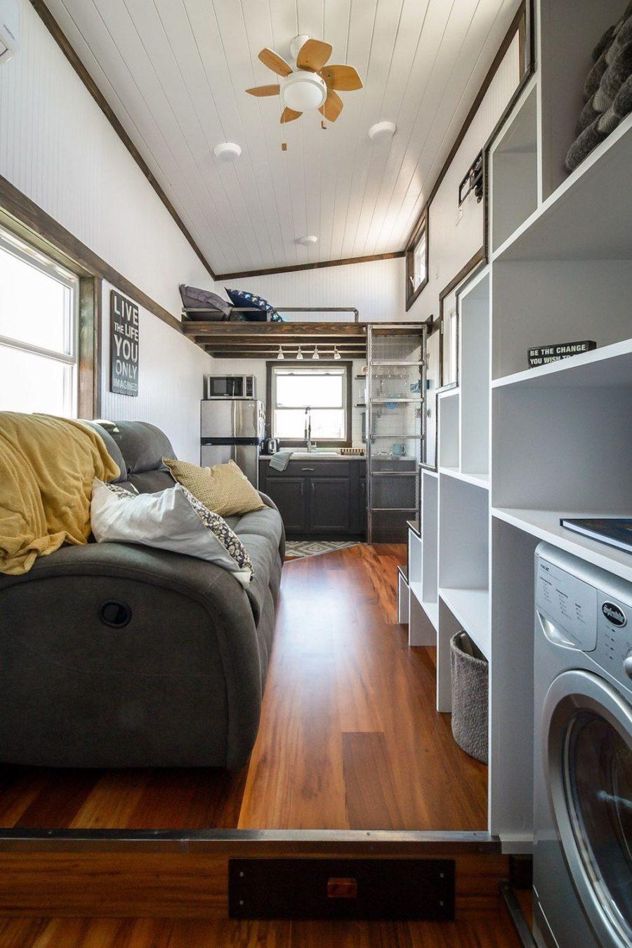 Triton wind river tiny living room