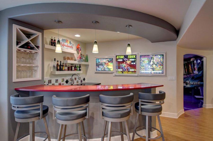 Ultimate basement entertainement center by Olivier Goedert