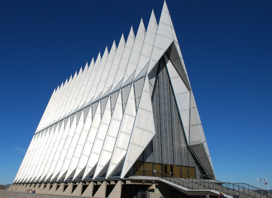 United States Air Force Academy Cadet Chapel -Colorado