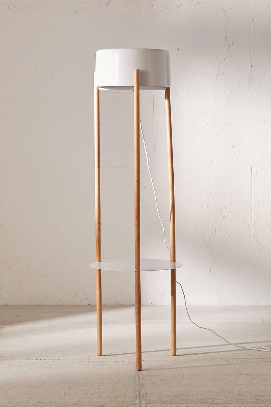 Absolutely not boring tripod floor lamp designs view in gallery victor tripod floor lamp solutioingenieria