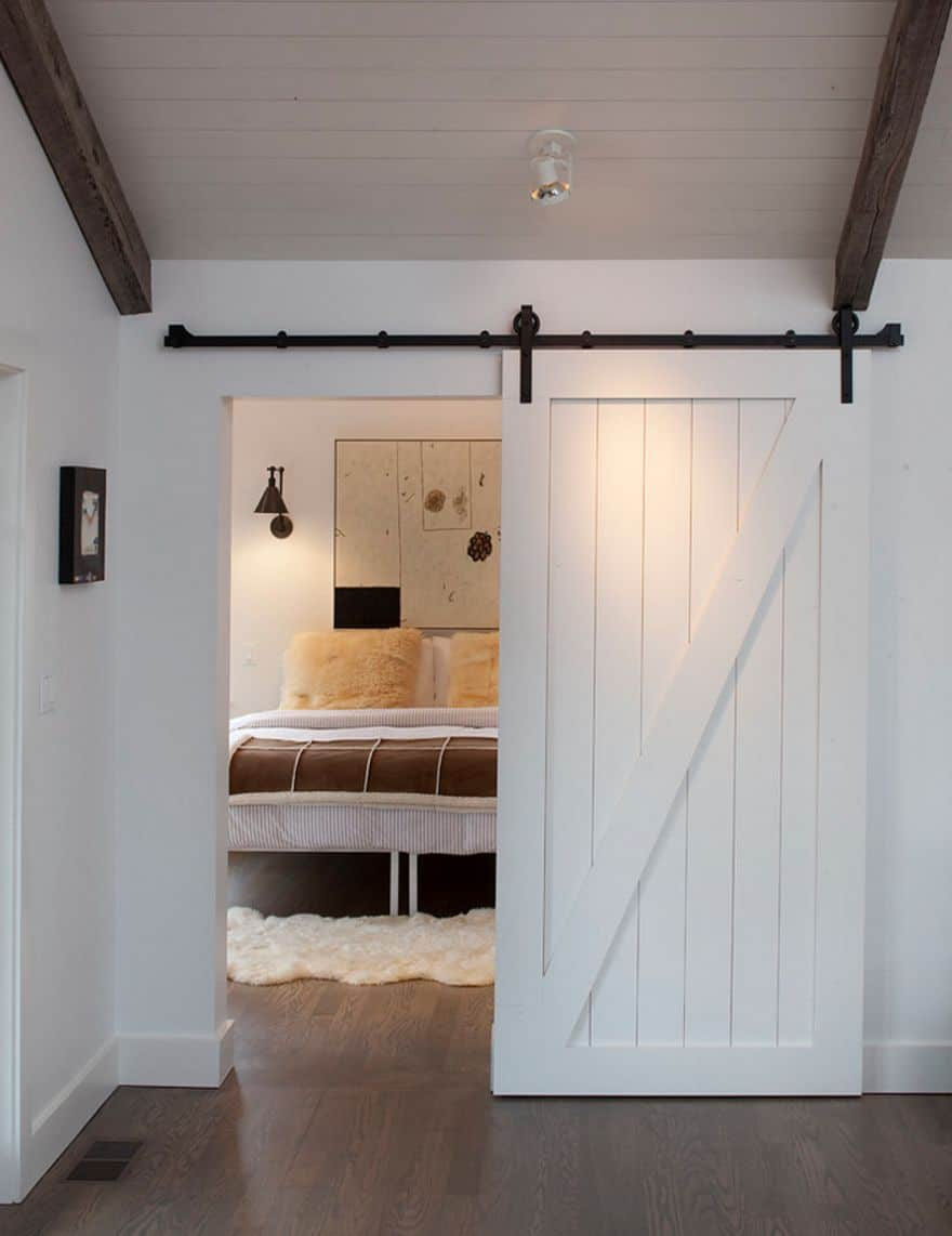 Bringing Sliding Barn Doors Inside
