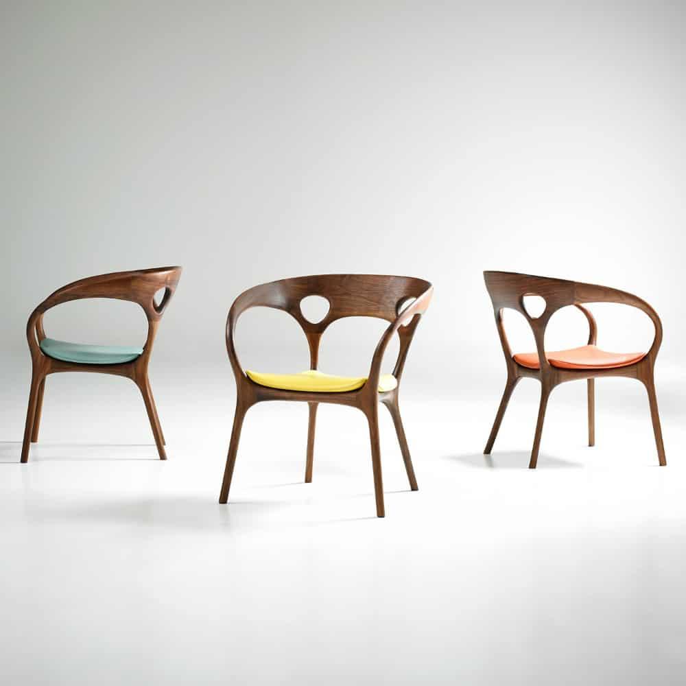 Anne Chair by Bernhardt Design