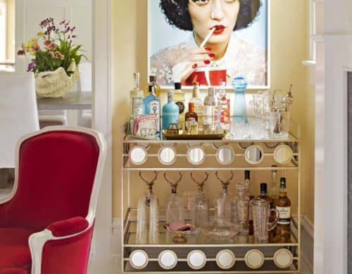 35 Chic Home Bar Designs You Need to See to Believe