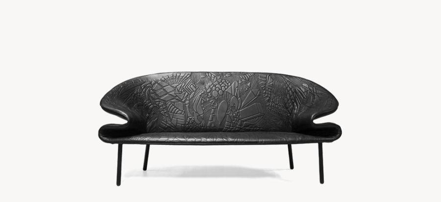 Artistic Doodle Sofa