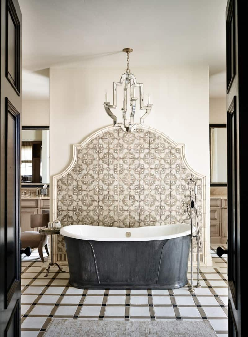 Bathroom design by Wiseman and Gale Interiors