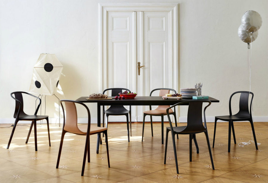 Minimalist Modern Dining Chairs. View In Gallery Belleville Chair