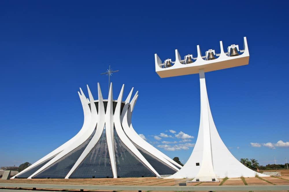 Cathedral of Brasilia in Brazil