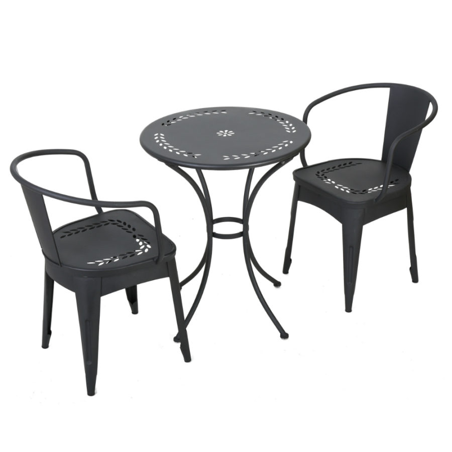 View In Gallery Christopher Knight Home Lourdes Outdoor 3 Piece Bistro Set