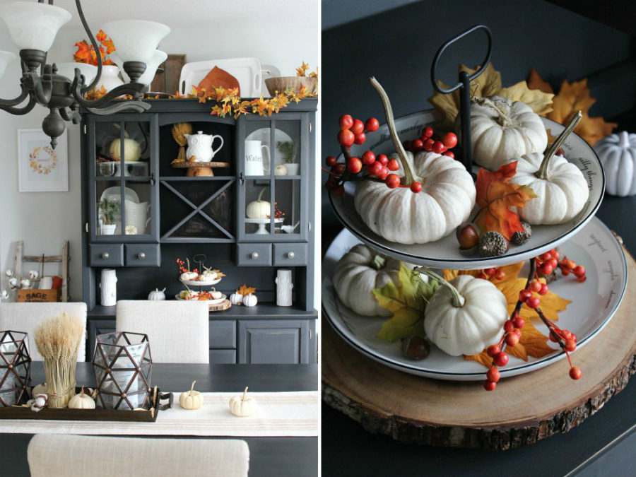 Clean Scentsible fall kitchen style