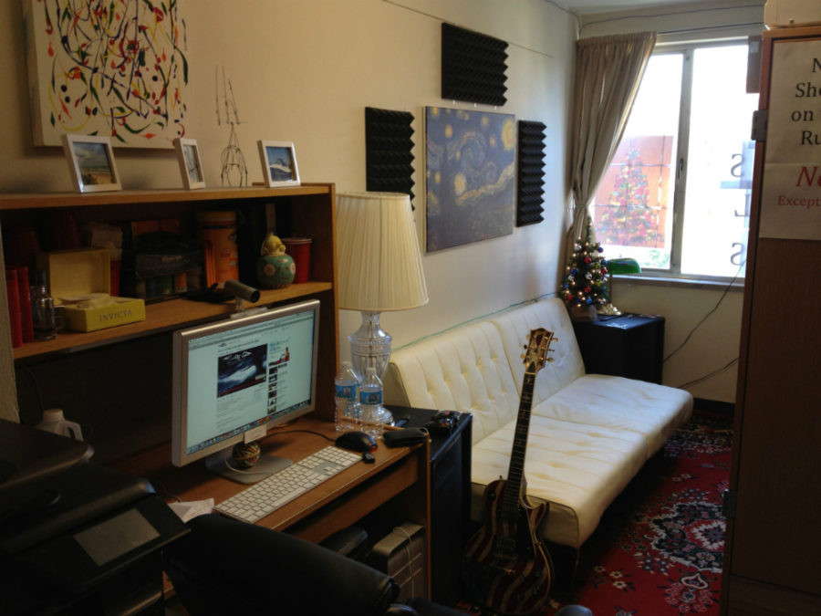 Student accommodation ideas that maximise space - College living room decorating ideas for students ...