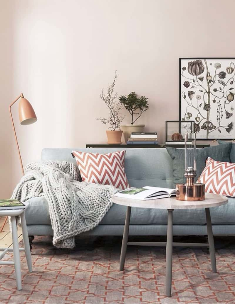 Copper tones for fall decor