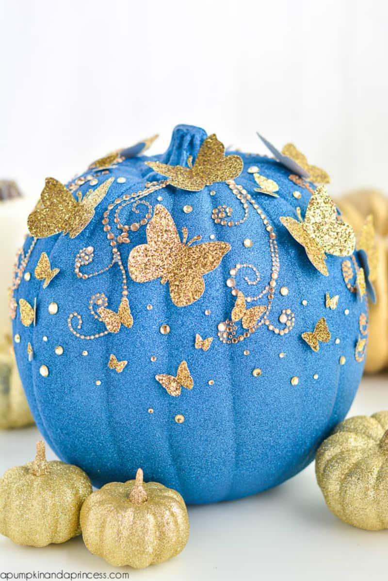 DIY Cinderella pumpkin