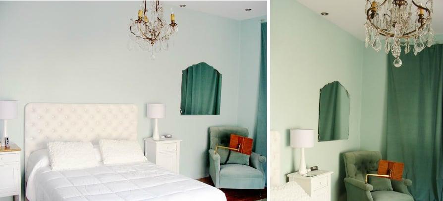 View In Gallery Elegant Modern Dorm Room Design In Green