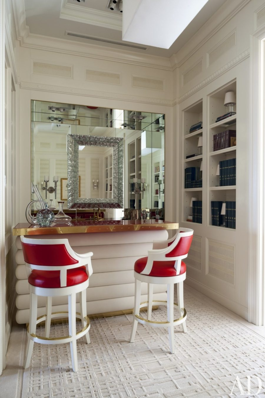 View In Gallery Elegant Wet Bar Library