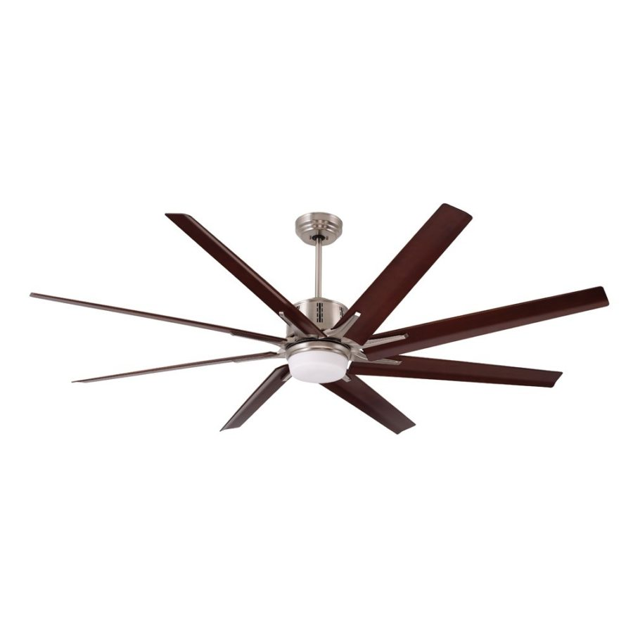 View In Gallery Emerson Aira Eco 72 Inch Brushed Steel Modern Ceiling Fan