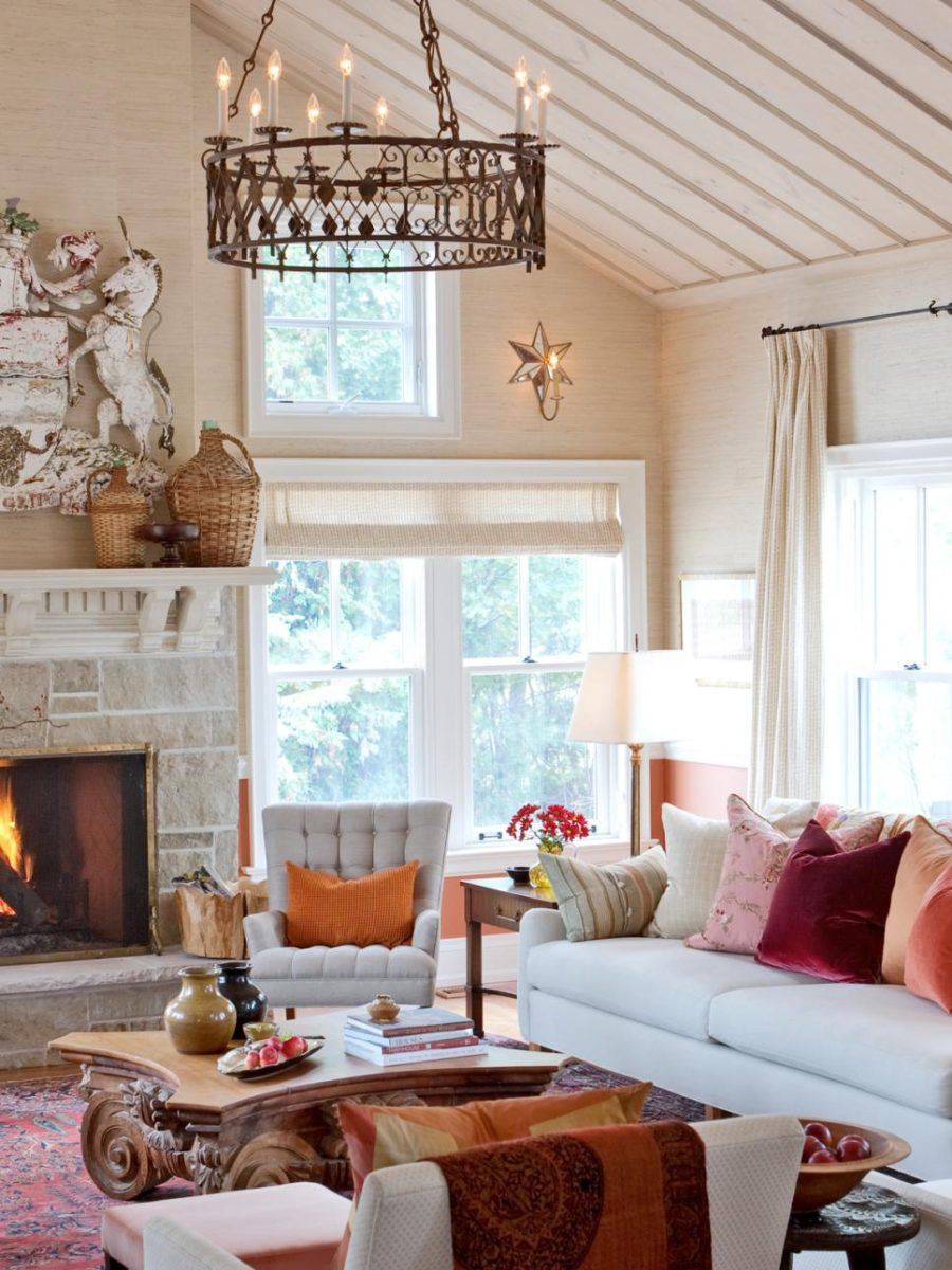 39 Tis Autumn Living Room Fall Decor Ideas