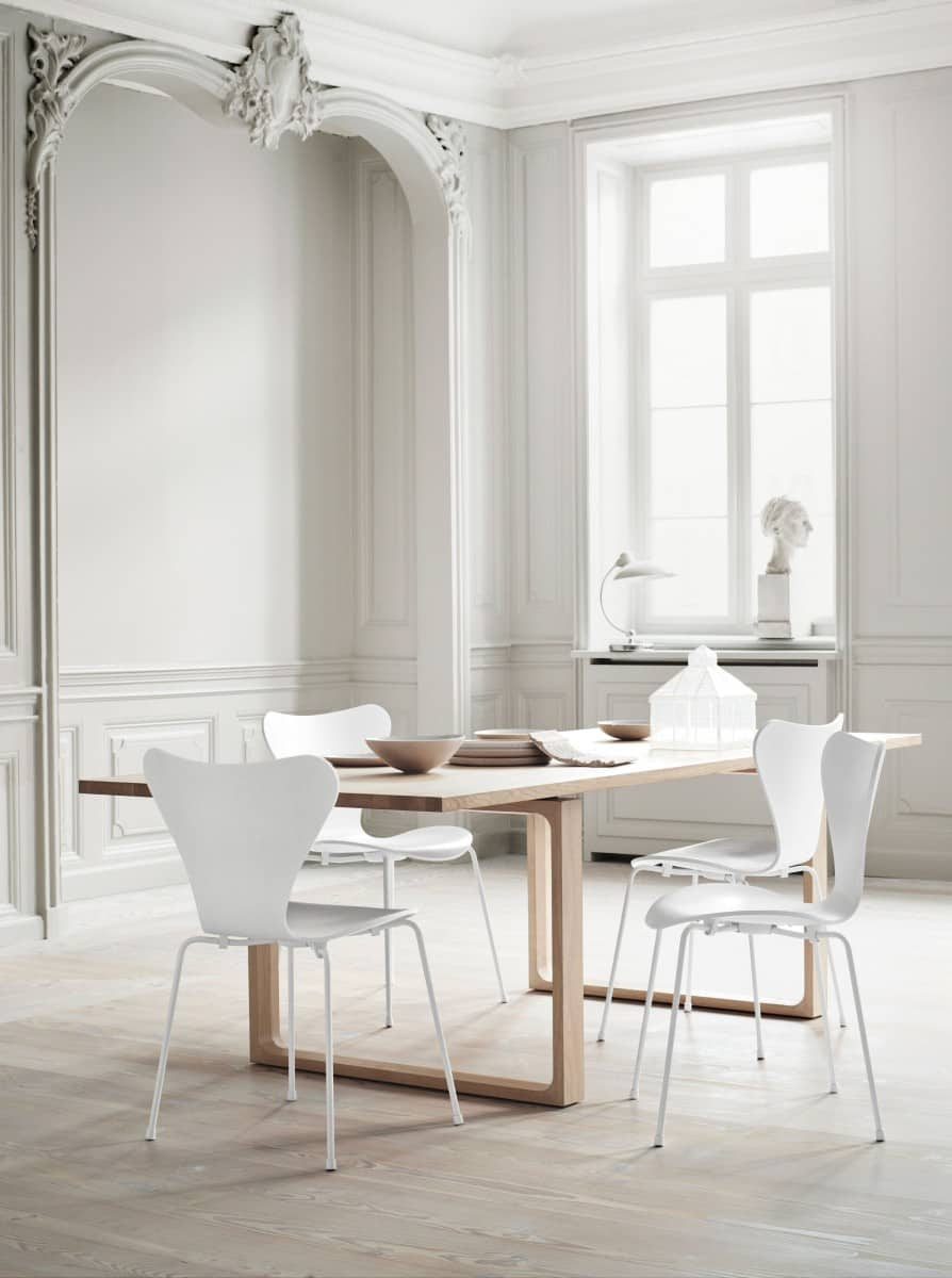 view in gallery fritz hansen model 25 modern dining chairs that will bring style to your table