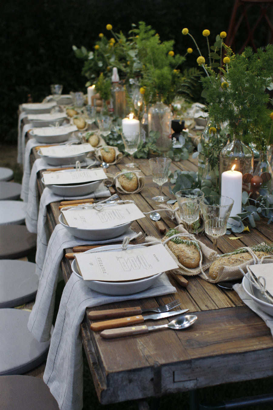Garden party table