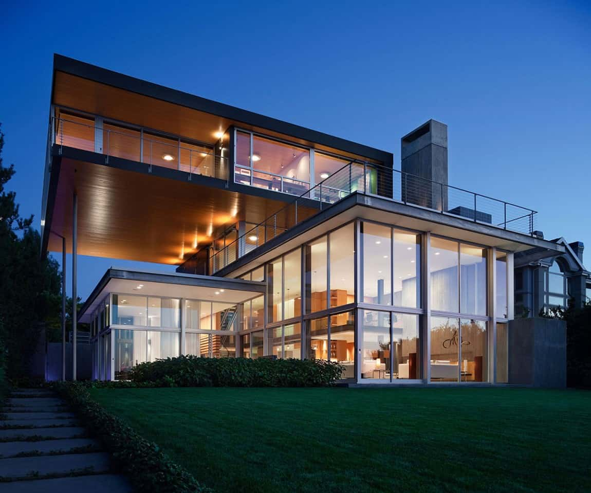 Glass Graham House by E. Cobb Architects - Download Modern Small Glass House Designs Background