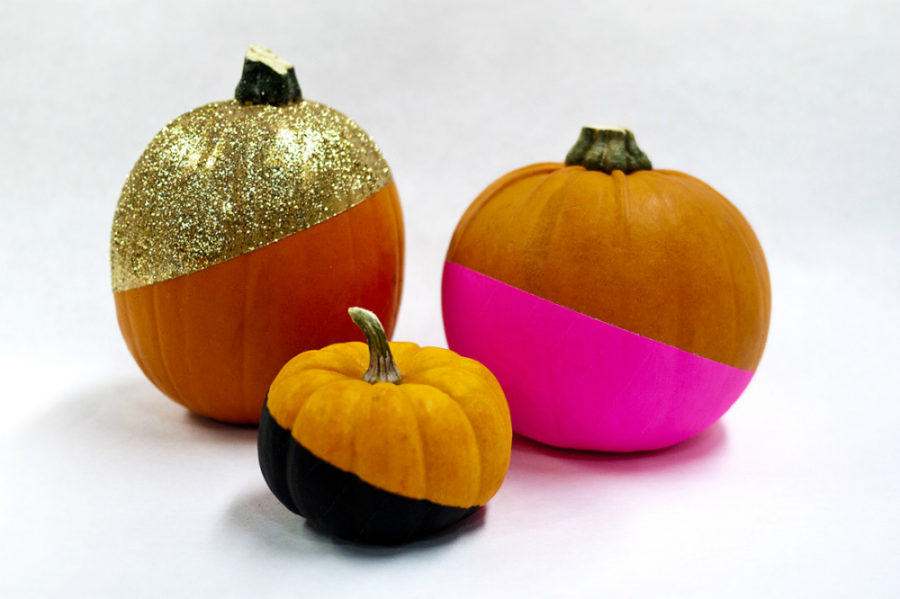 No carve pumpkin decorating ideas