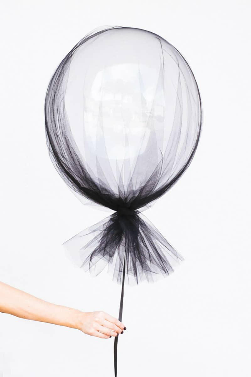 Halloween-styled balloon