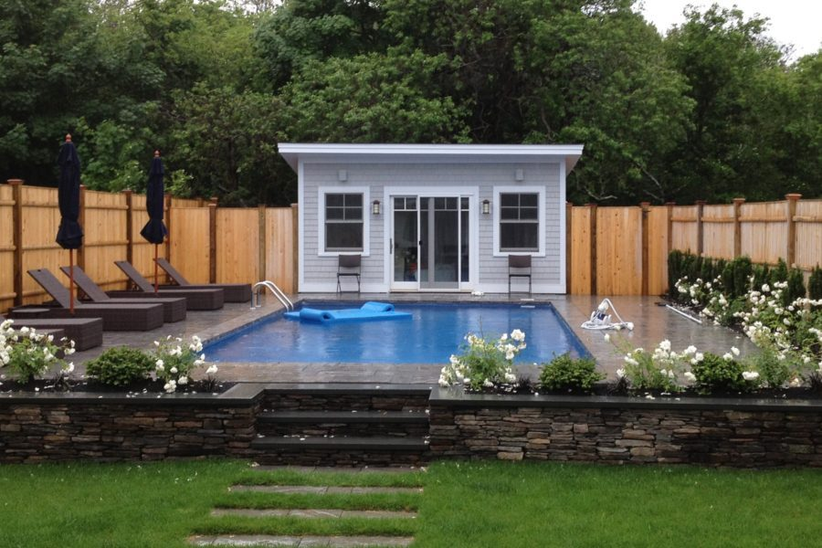 Pool House Ideas Part - 25: View In Gallery House With Day Beds For Pool Area
