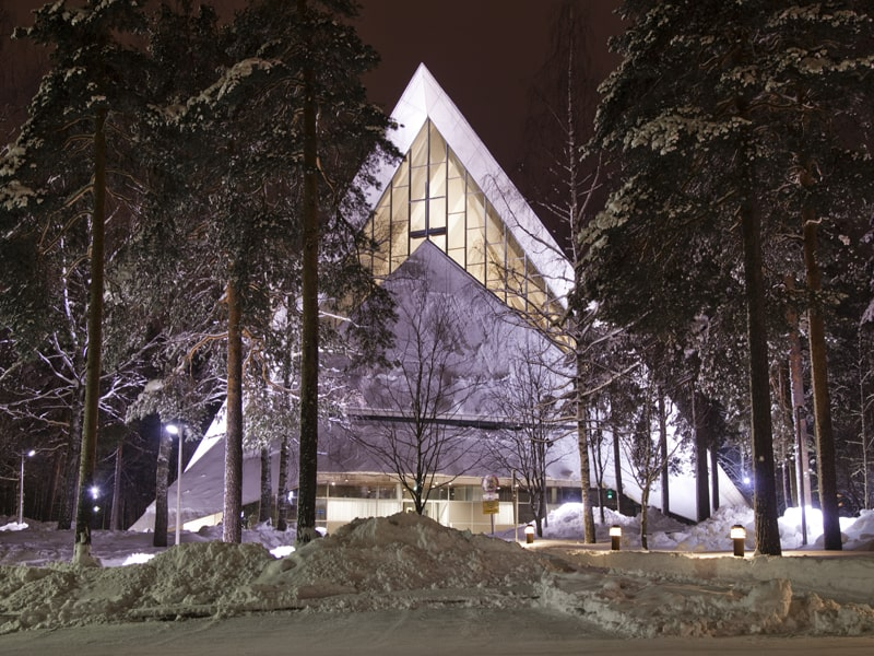 Hyvinkään church in Finland