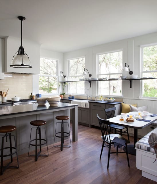 36 Modern Farmhouse Kitchens That Fuse Two Styles Perfectly on industrial porch design, industrial barn design, industrial farmhouse cafe design, industrial family room design, industrial houses design, industrial bathroom design, industrial laundry design, industrial office design, industrial restaurant design, industrial bedroom design, industrial lounge design,