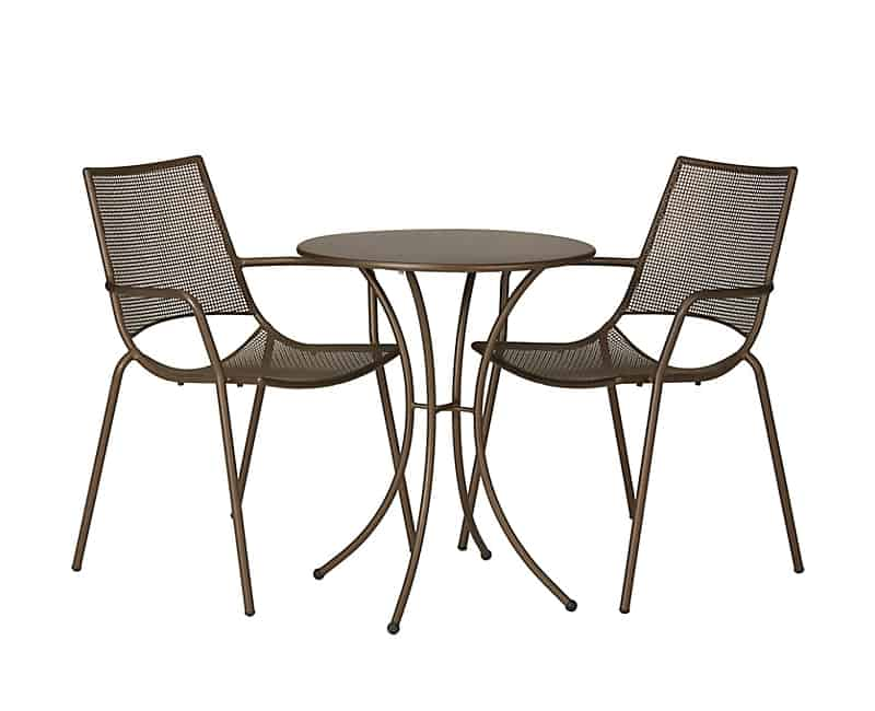 John Lewis Ala Mesh Table Chairs Bistro Set Balcony Chair and Table Design Ideas for Urban Outdoors