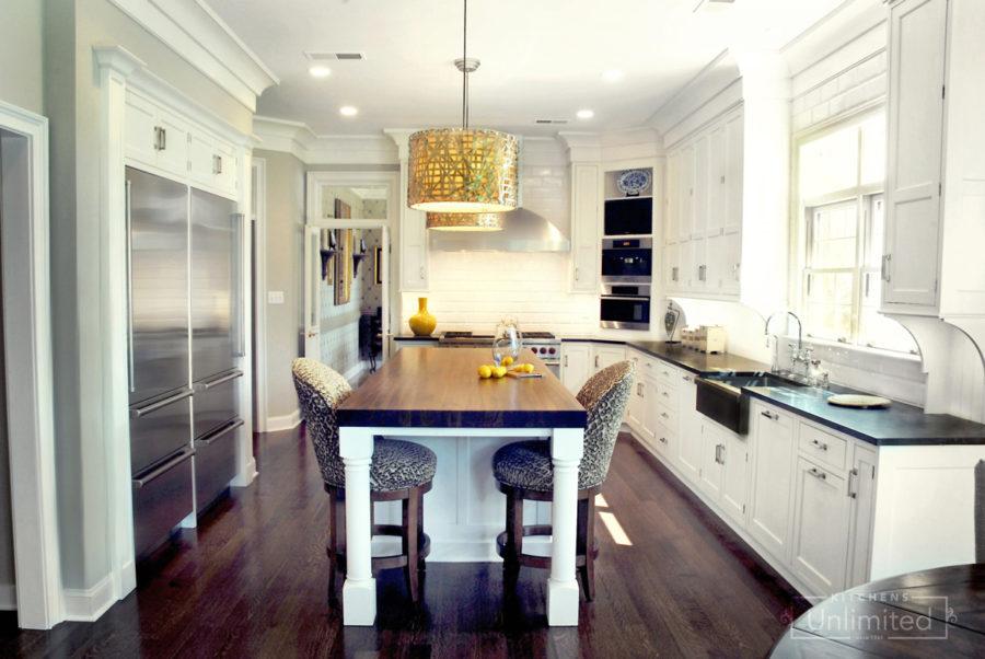 Kitchen design with simple nuances