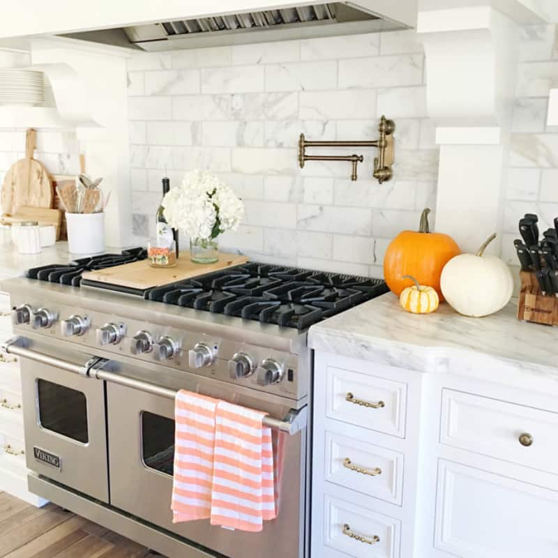 Kitchen fall decor ideas