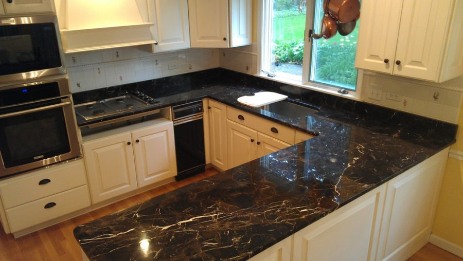 Laurent-Brown-Marble-Kitchen-Countertop-Design-FInished-Installed