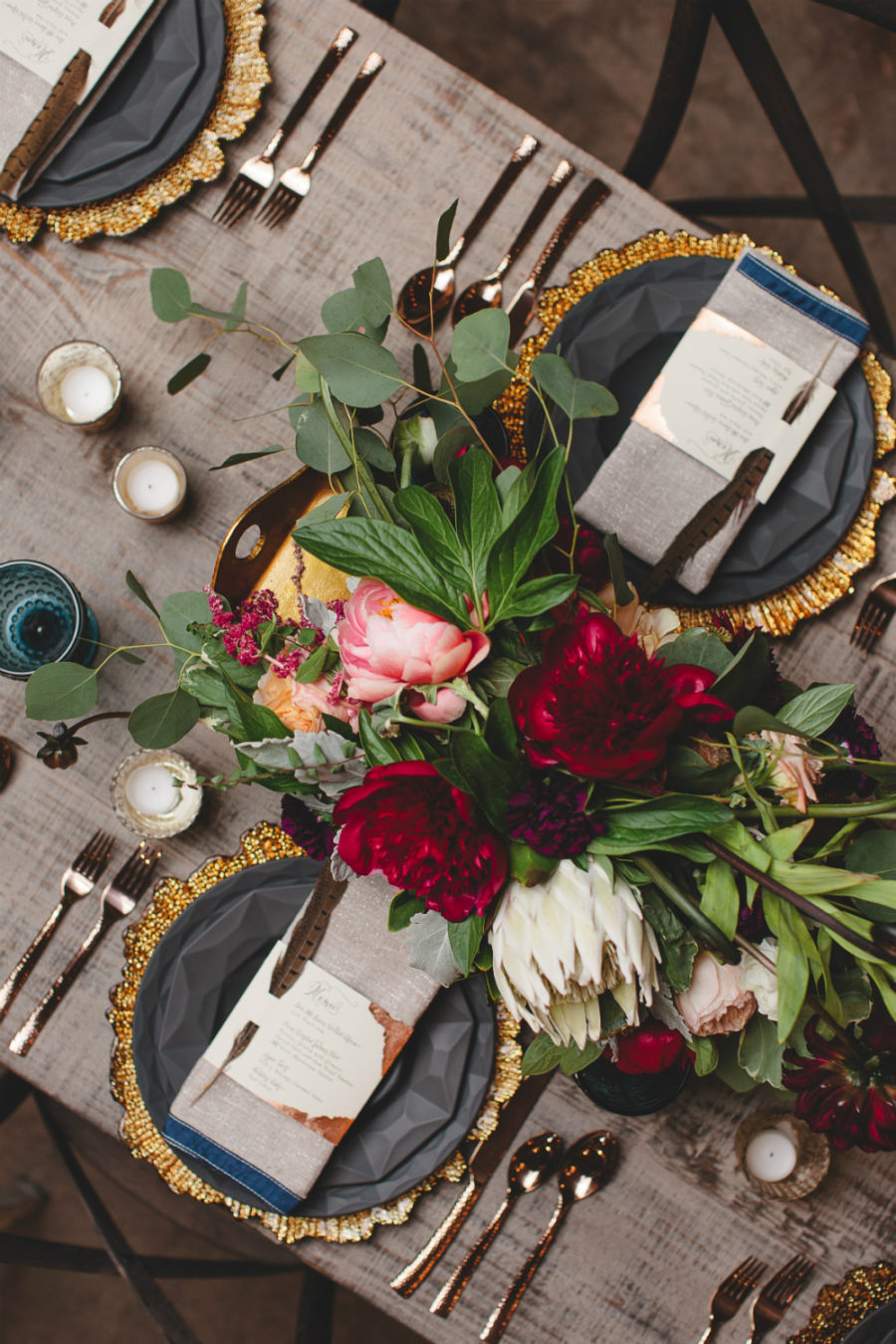 Luxe fall table decor ideas